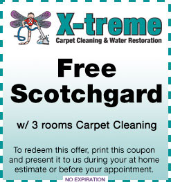 Coupons X Treme Carpet Cleaning Amp Restoration